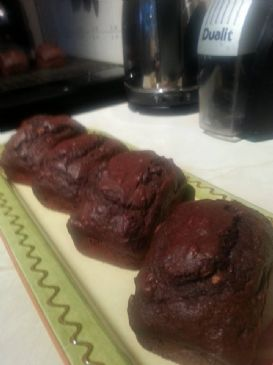 Chocolate Banana & Peanut Butter Mini Loafs