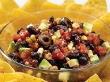 Black Bean Salsa by Homemade Gourmet
