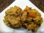 Pumpkin & dried fruit cookies