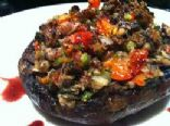 Paleo Power Stuffed Portabello