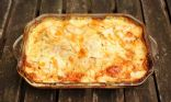 Celeriac and Yellow Wax Beans 'Au Gratin'