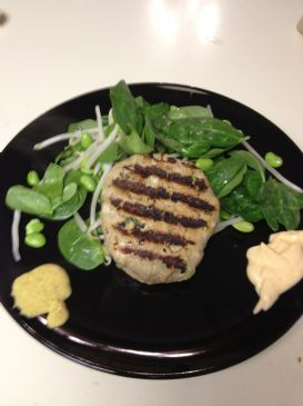 Grilled Ahi Salad