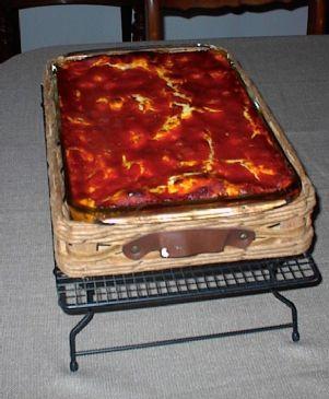Barb's Lazy Lasagna