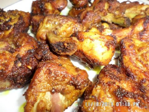 Simple Malaysian Fried Chicken