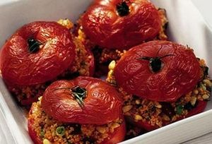 Gemista (stuffed tomatoes)