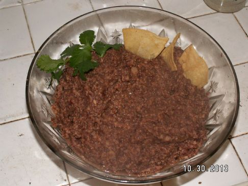 Crockpot (not) Refried Beans