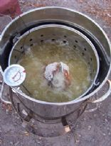 Deep Fried Turkey Preparation