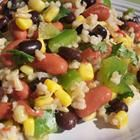 Brown Rice and Black Bean Salad
