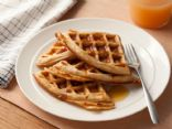 my healthy whole wheat waffles