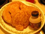 Gluten Free Buckwheat Applesauce Pancakes