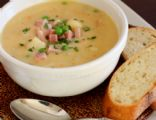 Ham Potato Cheddar Soup