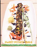 Sweet Potato Vegan Sushi Rolls