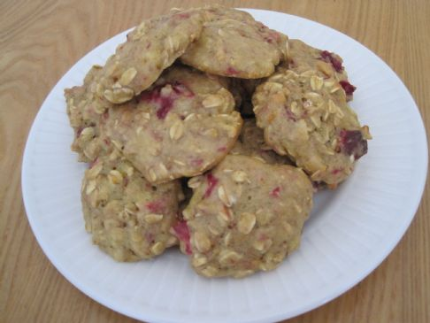 Orange-Cranberry Oatmeal Cookies