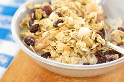 Cranberry Coconut Granola