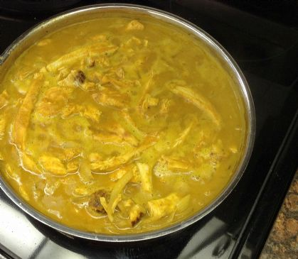 chicken and pumpkin curry recipe