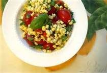 Corn, Tomatoe & Vidalia Onion Salad