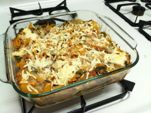 HG Takes-The-Cake Ziti Bake