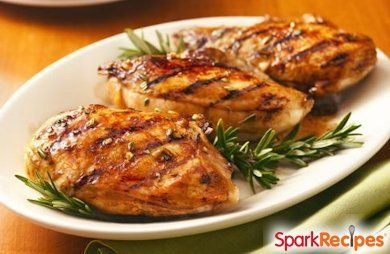 Balsamic Grilled Chicken Breast