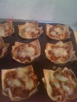 Lasagna Cups