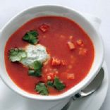 Smoky Tomato and Couscous Soup