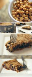 Chickpea Cookie Pie, Holistic Recipe