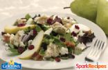 Asian Style Pear Salad with Grilled Fillets