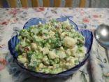 Califlower, Broccoli, and Bacon Salad