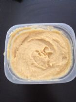 humus (sesame oil instead of tahini)