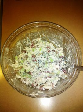 Modified Lighter Version of Whole Foods' Sonoma Chicken Salad