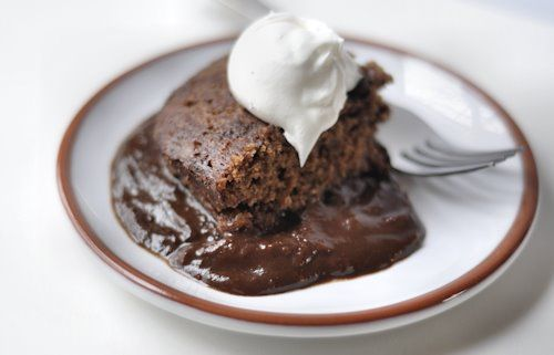 Chocolate Upside Down Cake